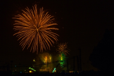 Fireworks! Pakistan's 68th Independence Day