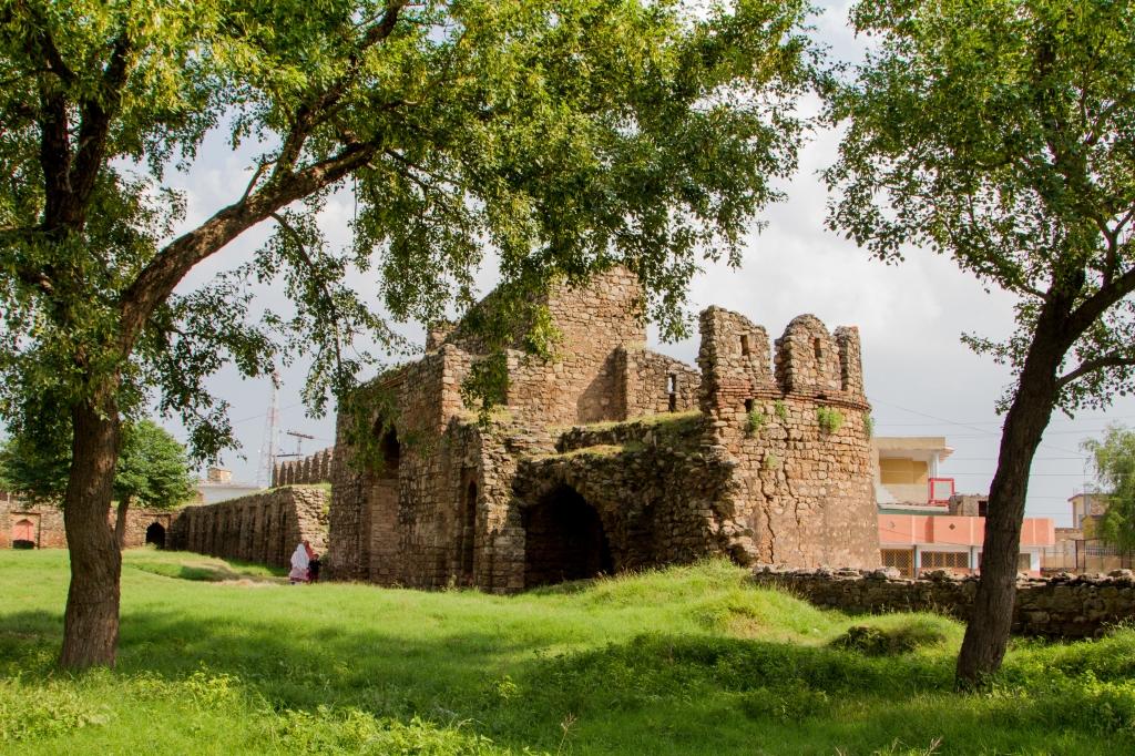 Rawat Fort - Eastern Gate from Inside 1