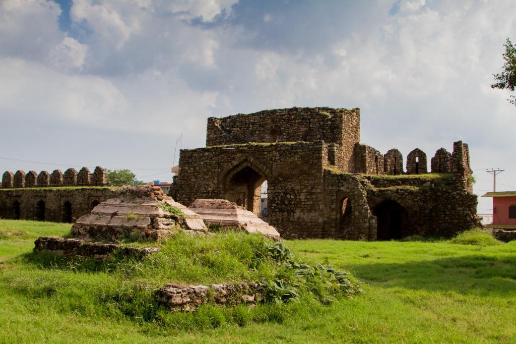 Rawat Fort - Eastern Gate from Inside 2