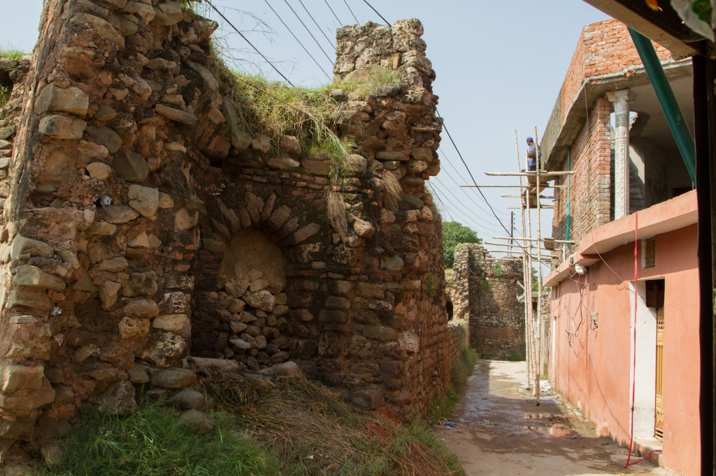 Rawat Fort - Exterior Wall, North Face