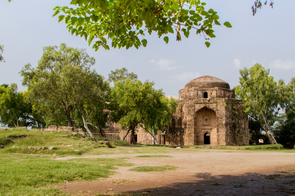 Rawat Fort inside view
