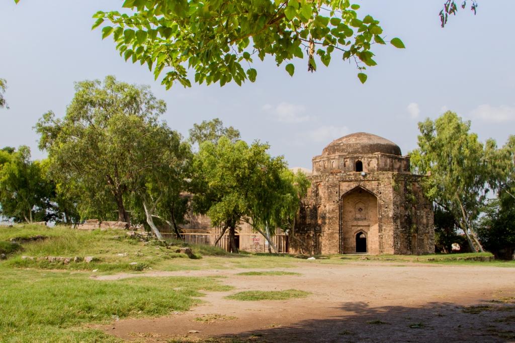 Rawat Fort inside view