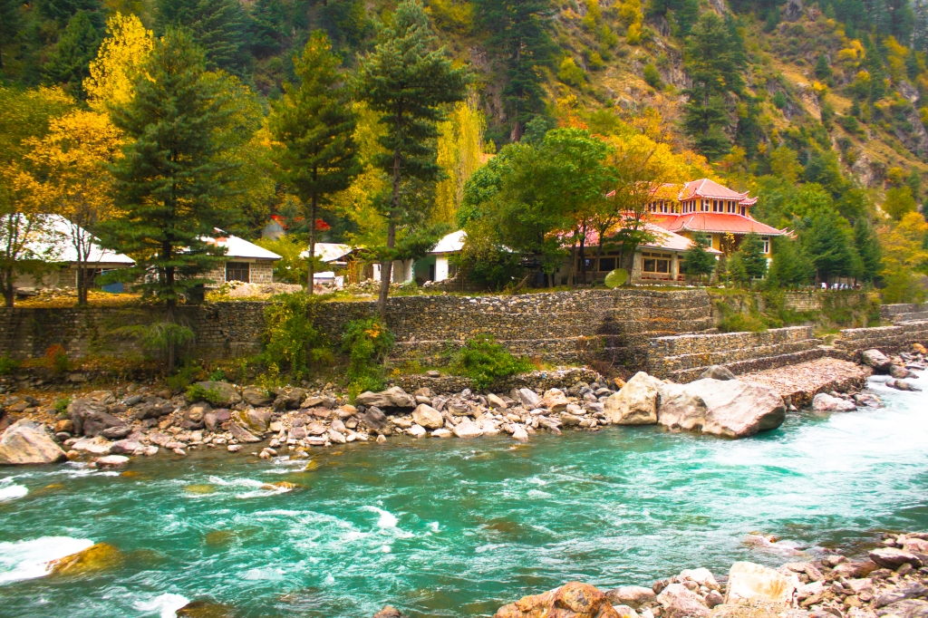 Hotel on our way to Naran